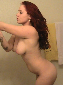 Busty Girl Takes Mirror Selfshot Pictures For Her Boyfriend Who Uploaded Them For Us - Picture 9