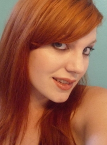 Sexy Redhead Teen Takes Selfshot Pictures - Picture 1