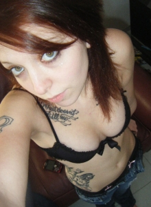 Cute Tattooed Girlfriend Takes Self Pictures For Her Boyfriend Who Shared Them With Us - Picture 6